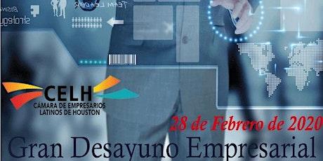 Desayuno Empresarial 05 de Marzo 2020 boletos