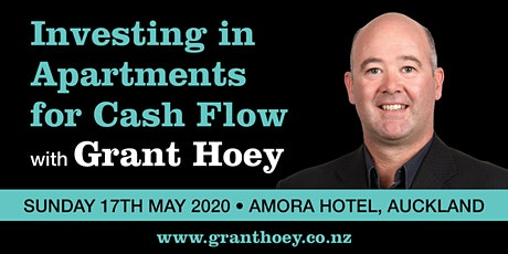 Investing in Auckland City Apartments for Cash Flow May 2020 tickets