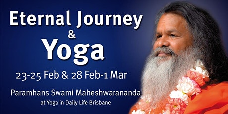 Eternal Journey & Yoga - Lecture, practice and workshops with Vishwaguruji tickets