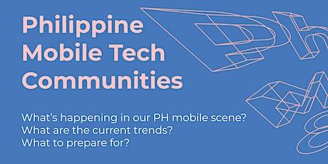 Philippine Mobile Tech Communities Meetup tickets