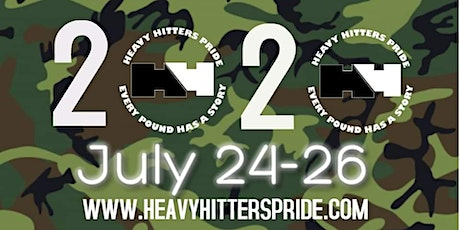 """2020 Heavy Hitters Pride """"Fighting Stigma and Fighting Barriers"""" tickets"""