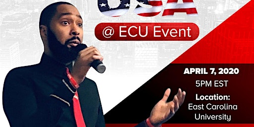 TPUSA feat Pierre at East Carolina University