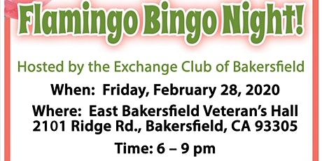 Flamingo Bingo Night tickets
