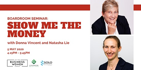 Perth, BWA Boardroom Seminar: Show Me the Money tickets
