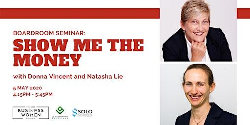 Perth, BWA Boardroom Seminar: Show Me the Money