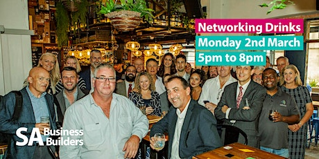 SA Business Builders Casual Drinks - March tickets