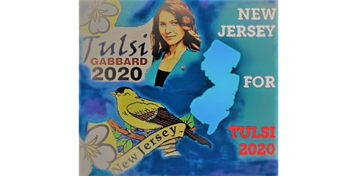 Signature Collection for Tulsi's NJ Ballot Spot at the Palisades Center