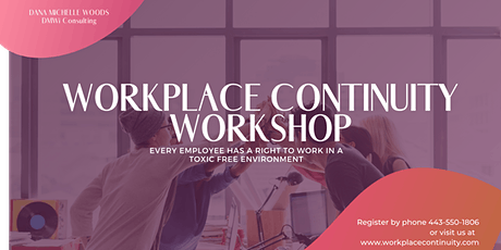 """Workplace Continuity Workshop - """"Discover 10 Ways to Boost Employee