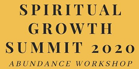 Spiritual Growth Summit tickets