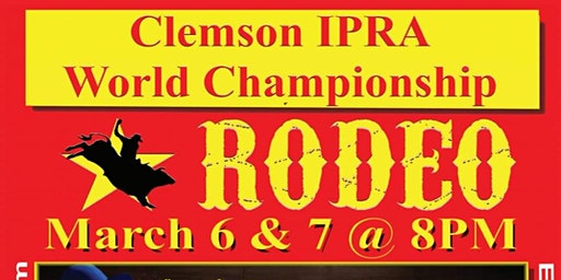 Clemson IPRA World Championship Rodeo