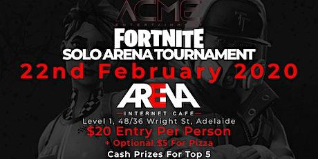 ACME X Arena Fortnite Tournament tickets