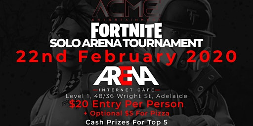ACME X Arena Fortnite Tournament