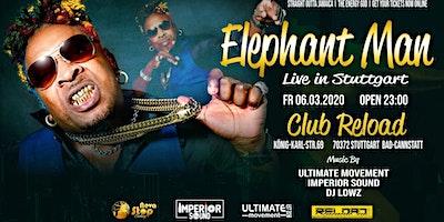 Elephant Man Live In Stuttgart