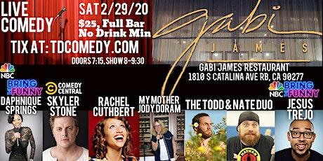 Live Comedy in Redondo Beach on 2/29! tickets