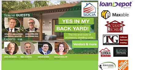 YES IN MY BACK YARD! The ins-and-outs of accessory dwelling units (ADUs) tickets