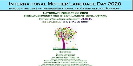 International Mother Language Day 2020 Ottawa