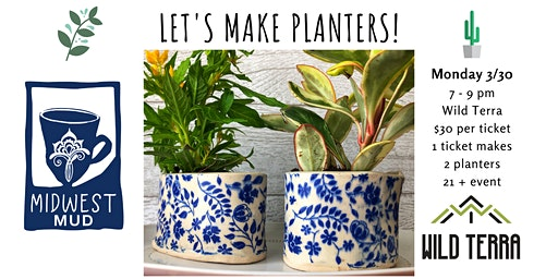 Let's Make Planters at Wild Terra!
