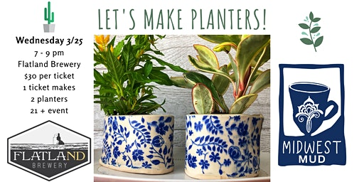 Let's Make Planters at Flatland Brewery!