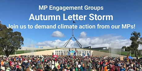 MPEG Autumn Letter Storm - join us to demand climate action from our MPs tickets