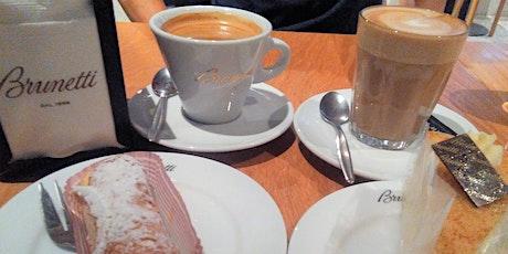 Coffee, Cake & Mingle @ Brunetti, Flinders Lane tickets