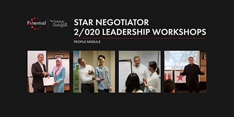 People Module - Star Negotiator 2/020 Leadership Workshops tickets