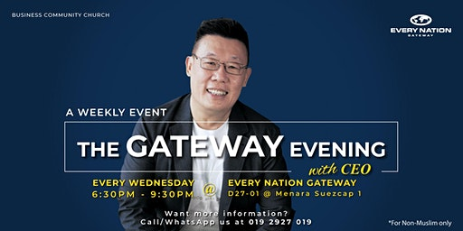 The Gateway Evening with CEO