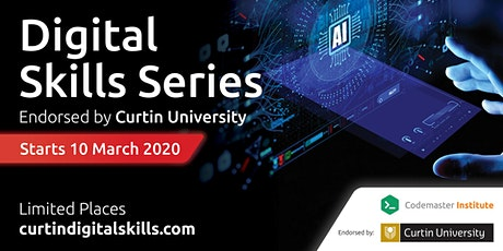 12 Week Digital Skills Series - Endorsed by Curtin University tickets