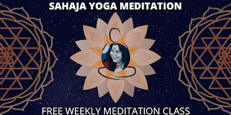 FREE SAHAJA YOGA MEDITATION CLASS tickets