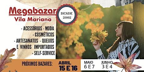 Megabazar Vila Mariana 15 e 16 de Abril (Outono dos Sonhos 2020) ingressos