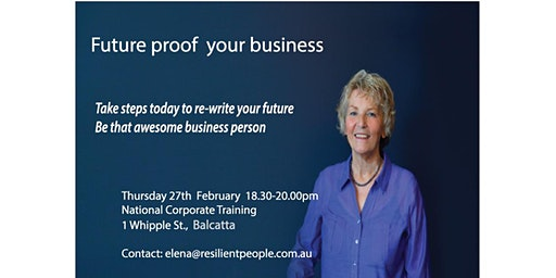 """New """"Stressproof Your Business"""" workshop"""