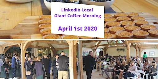 LinkedIn Local  Giant Coffee Morning for Spinal Injury Association