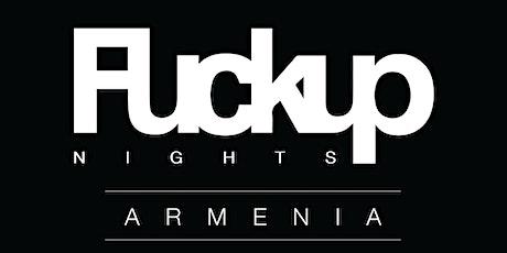 Fuckup Nights Armenia Double Anniversary tickets