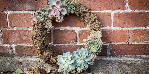Easter Living Wreath Workshop for table or door decoration