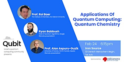 Quantum chemistry as a benchmark for near-term quantum computers