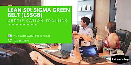 Lean Six Sigma Green Belt Certification Training in Cap-de-la-Madeleine, PE tickets
