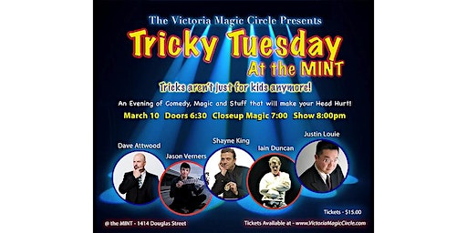 Tricky Tuesday at The Mint