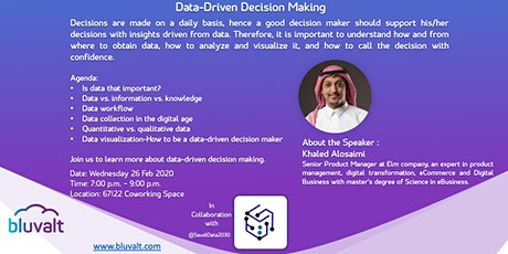 Data Driven Decision Making tickets