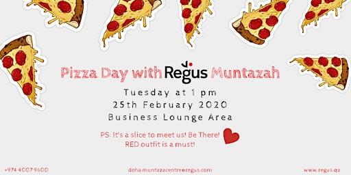 Pizza Day with Regus Muntazah