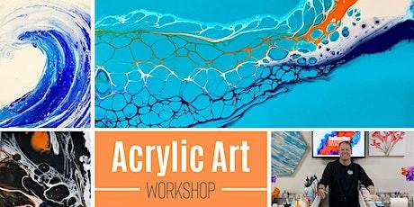 """Swipe"" Acrylic Painting Workshop tickets"
