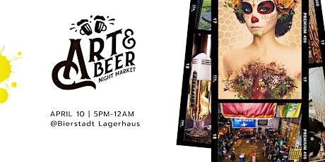 Art & Beer Night Market Denver tickets