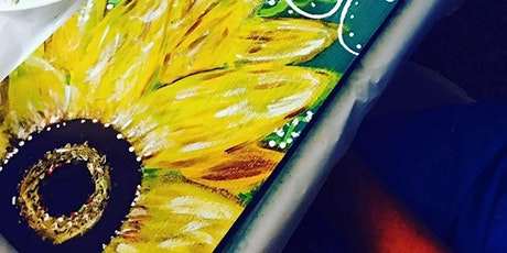 Paint & Sip Night - Learn to paint 'Simply Blessed' @ the COFFEE CLUB Chancellor Park tickets