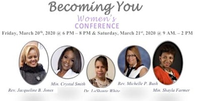 Becoming You 2020  Women's Conference