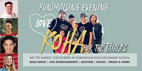 Koha Love Fundraiser tickets