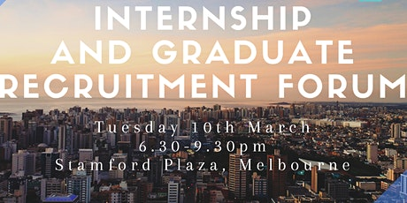 Internship and Graduate Recruitment Forum tickets