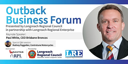 Outback Business Forum - Paul White