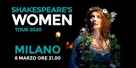 Shakespeare's WOMEN - Spazio Tertulliano (MILANO) biglietti