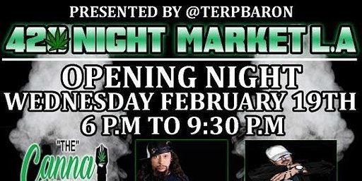 420 Night Market Every Wednesday & Friday