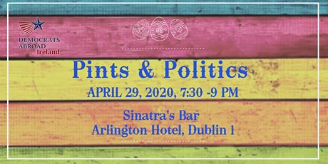 April Pints & Politics Gathering tickets