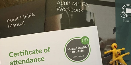 Mental Health First Aid - Adult 2 Day tickets