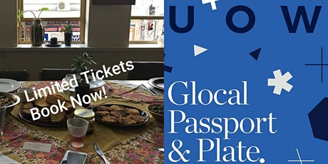 UOW Glocal Passport and Plate with Hidden Harvest tickets